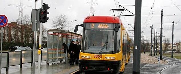 Szybki tramwaj jak ��w zmierza ku Nowodworom