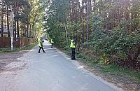 Akcja poszukiwawcza w Wawrze. Dwie noce sp�dzi� w lesie