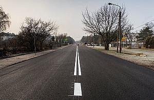 W�ycickiego z nowym asfaltem