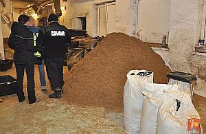 Zarekwirowano 9 ton nielegalnego tytoniu