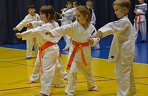 Karate - od dziecka do czarnego pasa. Masters Dojo trenuje ca�e rodziny
