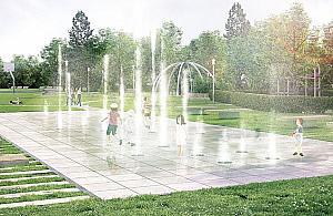 Legionowo b�dzie mia�o sw�j minipark fontann