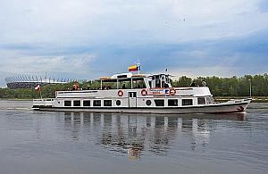 Statek wycieczkowy wraca na Kana�. Rejs z Bia�o��ki do Serocka