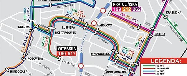 Metro na Targ�wku. Zmiany tras, objazdy, trzy lata utrudnie�