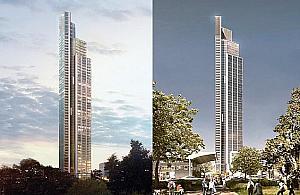Na Woli mo�e powsta� najwy�szy budynek w Europie