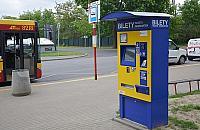 Nowy biletomat na Woli