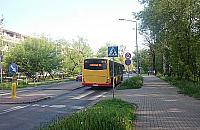 Dziwne przygody autobus�w na Lazurowej