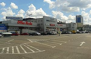 Gigantyczne centrum handlowe przy Towarowej