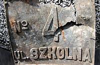 Skarb ze Sprawnej: 42 pociski i przedwojenna tabliczka
