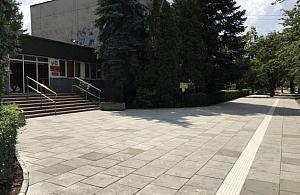 Remontuj� chodniki na Br�dnie