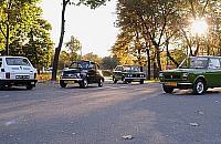 Maluchy na Bemowie. Kolejny zlot sympatyk�w Fiata 126 p