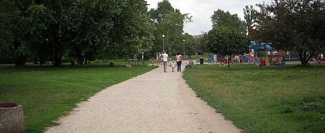Prawie milion na park G�rczewska. I �adnego nowego drzewa