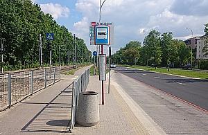 Wrzeciono kontra Tarchomin. Sp�r o przystanek tramwajowy
