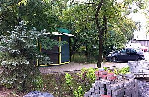 Nowy sklep na skwerku przy Sowiñskiego