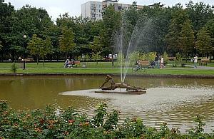 B�dzie nowa rze�ba w parku Br�dnowskim