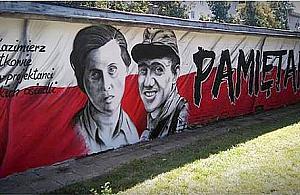 Mural dla Piechotków. Pobrali siê w czasie Powstania Warszawskiego