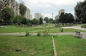 ¦cie¿ka zdrowia i nowe place zabaw na Wawrzyszewie