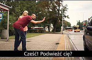Samochód osobowy kontra autobus. Spot miasta to strza³ w stopê