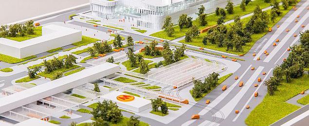 Budowa Galerii M�ociny wystartowa�a. Olbrzym przy stacji metra