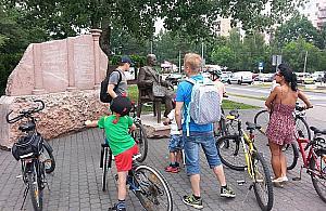 Dzie� W�gierski na Bia�o��ce. W kinie i na rowerze