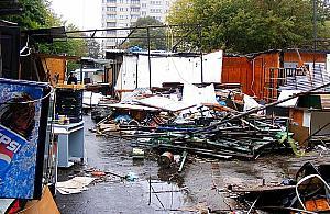 Smutny koniec bazaru na Górczewskiej