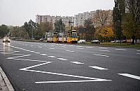 G�rczewska: dziury za�atane, jezdnia otwarta