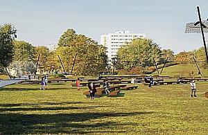 Nowy park Herberta z amfiteatrem i wybiegiem dla psów