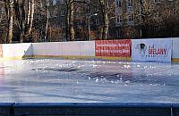 """Bielany bez lodowiska. """"Zapraszamy pod balon w parku Olszyna"""""""