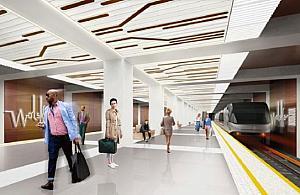 Rusza budowa metra przy P³ockiej. Kto zyska dziêki stacji?