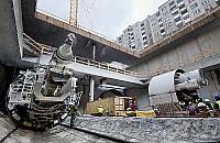 Mechaniczne krety na Targówku