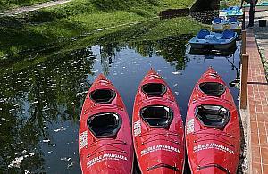 Fort Bema: Kajaki i rowery wodne za darmo