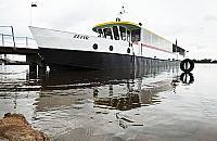 Rejs z ¯erania do Serocka: ca³y dzieñ na statku