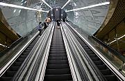 Wie¶niacy i s³oiki, czyli o blokowaniu schodów ruchomych