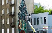 Ryby na ¶cianie. Nowy mural na Mirowie