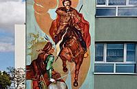 Kolejny mural ozdobi Legionowo