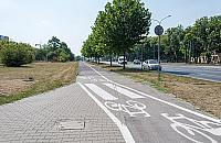 Zmiany na Po³czyñskiej. Drogi rowerowe i ³atwiejszy skrêt w D¼wigow±