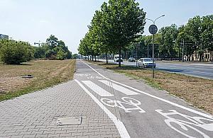 Droga rowerowa na Po³czyñskiej opó¼niona