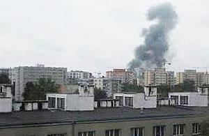 Nietypowy dym nad Hut±