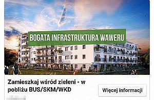 """Atrakcyjne mieszkania """"w Waweru"""". Spec od reklamy p³aka³ jak wymy¶la³"""