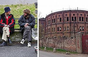 Noclegownia dla bezdomnych obok Koloseum