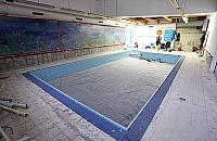 Delfin ju¿ w remoncie. Pó³ roku bez basenu