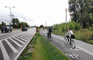 Taka bêdzie Radzymiñska. Nie tylko dla rowerzystów