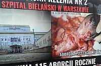 """Antyaborcyjna rze¼nia pod Szpitalem Bielañskim. """"Podjêto kroki prawne"""""""