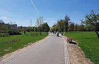 Spory w parku Górczewska. Rozdzieliæ pieszych i rowerzystów?