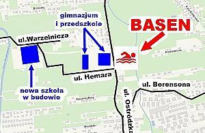 Basen przy Ostródzkiej coraz bli¿ej