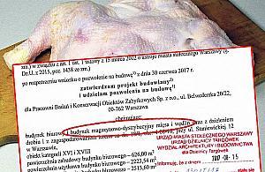 """""""Afera drobiowa"""" na Bródnie"""