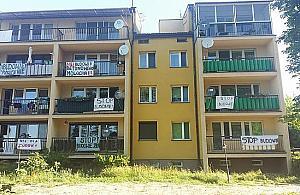 Protest w Zegrzu. Mieszkañcy nie chc± Portico Marina