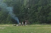"""Grilluj± w lesie Bródnowskim. """"Mo¿e byæ po¿ar"""""""