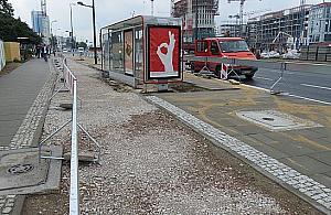 """Zlikwidowali zatokê dla autobusów. """"Bêdzie miejsce dla wszystkich"""""""
