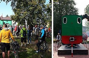 Rajd Falenica-Karczew. Na rowerach na pami±tkê ciuchci